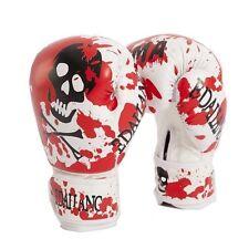 10OZ Skulls Womens/Mens Kids Boxing Gloves Muay Thai/MMA/Taekwondo Luva De Boxe