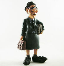 Female School Teacher Figurine | Mothers Gift | Teaching Job Statue Cake Topper