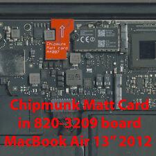 """Matt card: Apple EFI Firmware Unlock Tool MacBook Air 13"""" 2012  (unlocks 1 Mac)"""