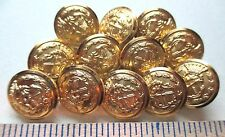 12 NEW CROSSED ARROWS & CROWN High QUALITY Buttons USA Made Buttons HIGH END