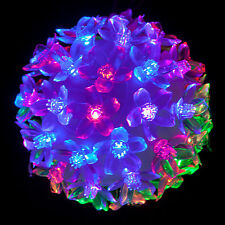 LED RGB Flowers Colorful Ball Fairy Light Lamp Wedding Christmas Decoration