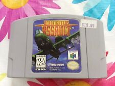 AeroFighters Assault Nintendo 64 N64 Tested & Working *GAME ONLY*