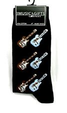 Guitar Socks - Music Themed Gift - Musical Socks for Guitar Student