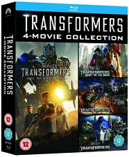 Transformers: 4-Movie Collection [Blu-ray Box Set, Region Free, 5-Disc] NEW