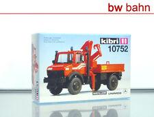 Kibri H0 10752 Bausatz MB Unimog Feuerwehr Ladekran Neu