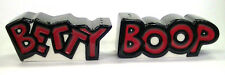 "Betty Boop ceramic figurine ornaments Salt and Pepper pots 10cm (4"") long"