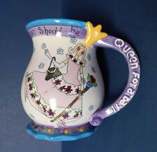 "Blue Sky ""Queen for a Day"" Club Coffee Cup Mug by Heather Minc Free Shipping!"