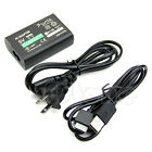 AC Power Adapter USB Data Cable Supply Convert Charger For Sony PS Vita PSV