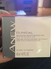 Avon Anew Clinical Advanced Retexturizing Peel with Glycolic Acid~~Clear Skin