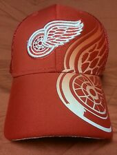 Detroit Red Wings NHL Ball Cap Trucker Hat Size Adjustable