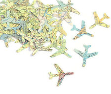 Punched Aeroplane Confetti/Scrapbooking/Paper Craft - 100 Pieces