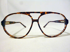 Tart Optical Regency Vintage Pilot Dbl Bridge Eyeglass Frame in Amber - 64