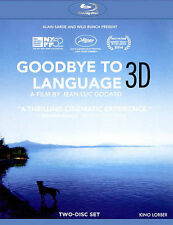 Goodbye to Language (2-Disc with 3D Blu-ray and 2D Blu-ray), New DVDs