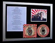 INCUBUS Love Hurts LTD GALLERY QUALITY CD FRAMED DISPLAY+EXPRESS GLOBAL SHIP