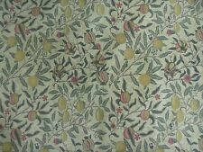 "WILLIAM MORRIS PVC/OIL CLOTH FABRIC DESIGN ""Fruit Minor"" 0.60 METRE"