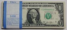 Pack of (100) 2013 Brand New Uncirculated $1 Dollar Bills from RICHMOND DIST E-C