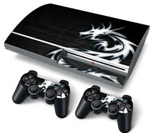 PS3 Original PlayStation 3 Skin Stickers PVC for Console & 2 Pads Dragon Tiball