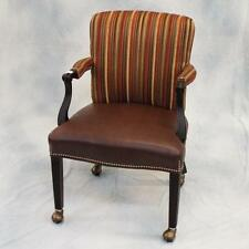 Leather/Upholstered Desk Chair by Fairfield Lot 548