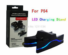 Dual USB Charger Charging Station Dock Stand for Playstation 4 PS4 Controller