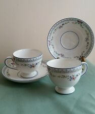 SET OF 2 Wedgewood Rosedale Coffee Cup and Saucer