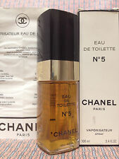 Vintage '90s Chanel No 5 LARGE 3.4 oz 100 ml Eau de Toilette Spray - OLD FORMULA