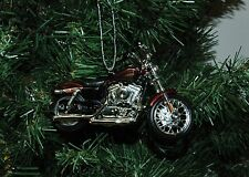 Harley Davidson 2012 XL 1200V Seventy-Two Motorcycle Christmas Ornament