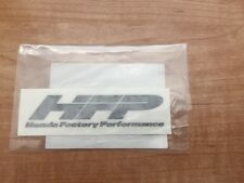 Honda Factory Performance HFP Decal 3.5x1 Sticker Wheels Civic Accord Oem Sealed