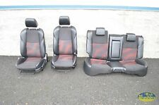 10 11 12 MAZDASPEED3 MAZDA SPEED3 FRONT REAR SEATS SEAT SET COMPLETE OEM 2.3L