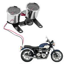 Universal Motorcycle LED Odometer Speedometer Tachometer Motor Speed Meter CC