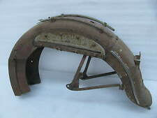 original Harley Davidson Rear Fender Bigtwin Knucklehead 1941 ? old paint