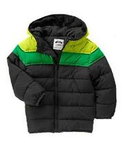 Gymboree Colorblock Hooded Puffer Jacket Sz M 7-8