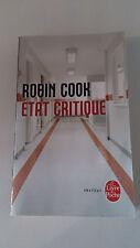 Robin Cook - État critique
