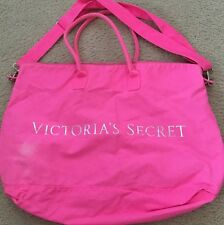 Victoria Secret Weekend Canvas Bag Pink