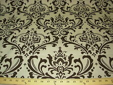 ~BTY~VICTORIAN ELEGANCE~LINEN UPHOLSTERY FABRIC~FABRIC FOR LESS~