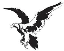 (Nr21) FLYING EAGLE HAWK DECAL VINYL STICKER HOOD WALL WINDOW TRUCK CAR