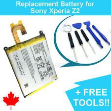 NEW Replacement Battery for Sony Xperia Z2 L50W 3200mAh and FREE Repair Tools