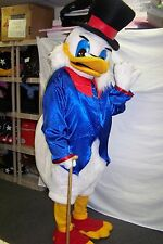 New Scrooge Duck adult mascot costume / Holidays/X-mas special