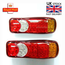 Led Rear Tail Lights Truck Lorry Trailer Fits Mercedes Actros Atego 815 Axor