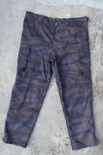 YUGOSLAVIA / SERBIA UN-USED POLICE PANTS IN BLUE TIGER CAMOUFLAGE - W45 L32.5