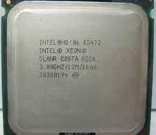 MATCHED PAIR  INTEL XEON QUAD CORE E5472 3.0GHz CPU PROCESSOR SLANR 12MB 64 BIT