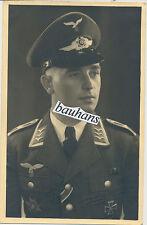 Portrait fuerza aérea-feldweb. españa cruz-ek 2-ek 1-bandspange-paraguas gorro (u392)