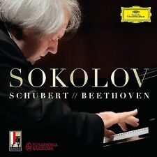 2CD SOKOLOV piano SCHUBERT / BEETHOVEN / RAMEAU