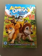 Alpha and Omega 3 - The Great Wolf Games DVD New Sealed.