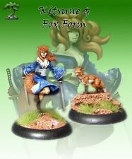 Bushido BNIB - Kitsune and fox form - Temple of Ro-Kan