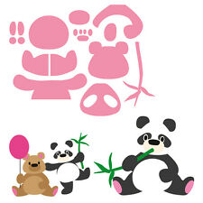Marianne Design COLLECTABLES BEAR PANDA Cutting & Embossing Die  - COL1409