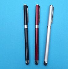 2 X Aluminum Stylus Pen for iPhone 3G 4G P1000 iPod iPAD Samsung HTC Series