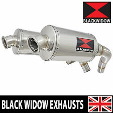 ST1100 ST 1100 Pan European Exhaust Stainless Silencers Mufflers Oval 230SS