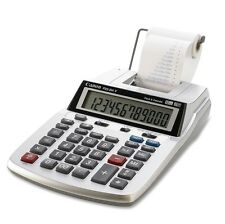 Canon Desktop Printing Calculator LCD 12 Digits Clock Calendar Portable Office
