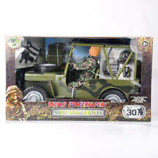 1/6 Scale World Peacekeepers' Military Jeep Vehicle Soldier 90014A Figure Toys