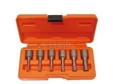 BERGEN Pro 6 Piece 3/8'' Drive Bolt Extractor Kit Reverse Thread Missing 2-4 mm